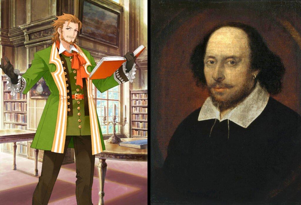 William Shakespeare - Fate/Grand Order Caster Sınıfı Karakterleri Gerçek Hikayeleri - Figurex Ne? Nedir?