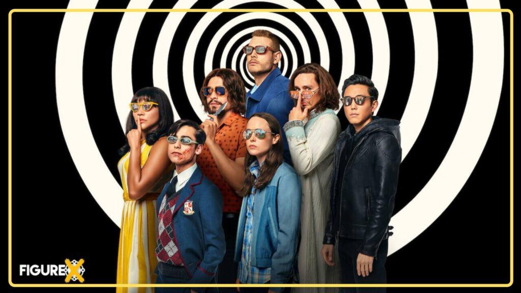 1 The Umbrella Academy 1 - Netflix'de Yayınlanan Fantastik Dizi Önerileri - En İyi 20 - Figurex Dizi