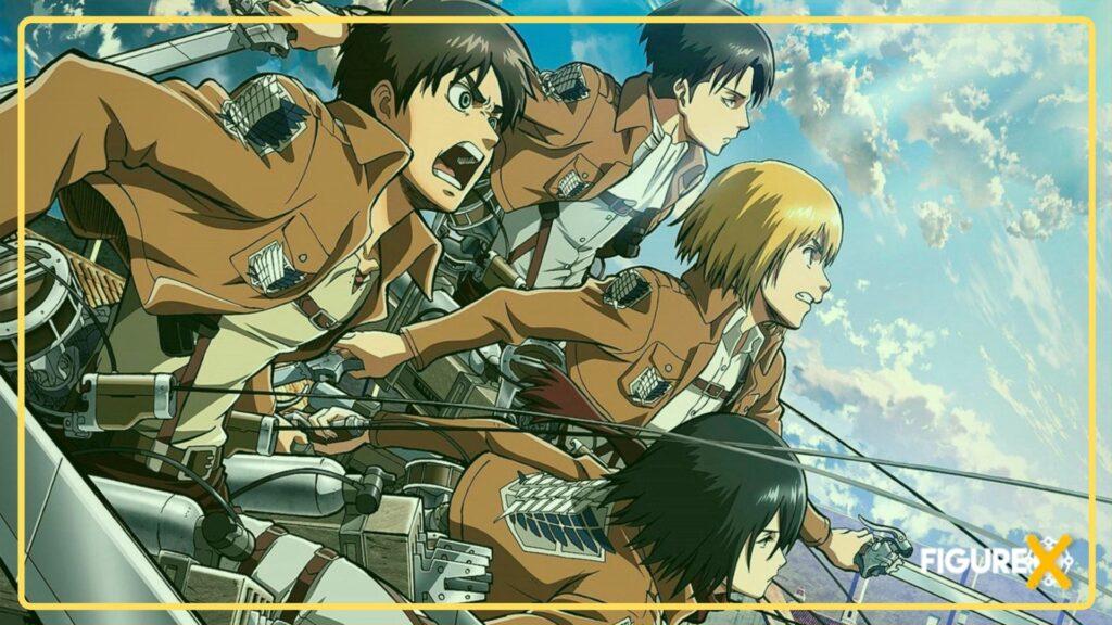 12 Shingeki no Kyojin 1 - Castlevania Tarzı Animeler - Figurex Anime Önerileri