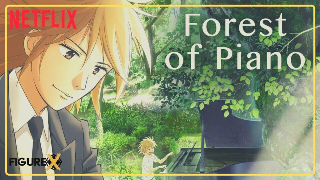 15 Forest of Piano 1 - Netflix'de İzleyebileceğiniz Harika Animeler - Figurex Sinema