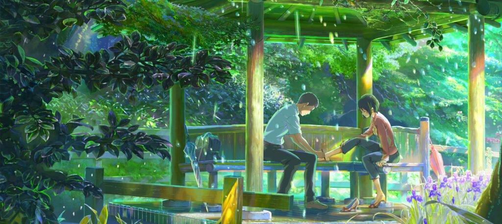 19 The Garden of Words 1 - Yetişkinler İçin Anime Film Önerileri - Figurex Film
