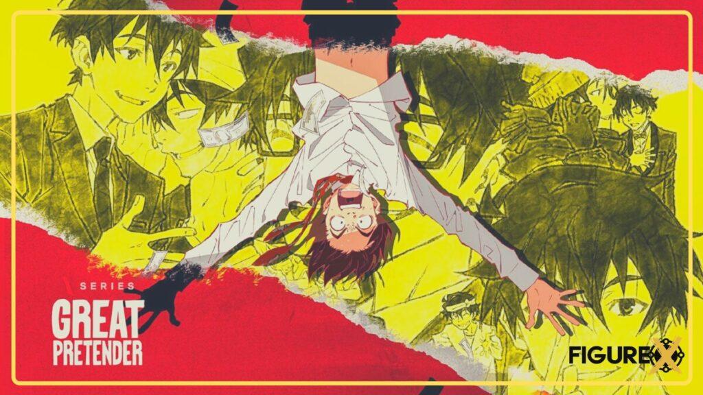 28 Great Pretender 1 - Netflix'de İzleyebileceğiniz Harika Animeler - Figurex Sinema