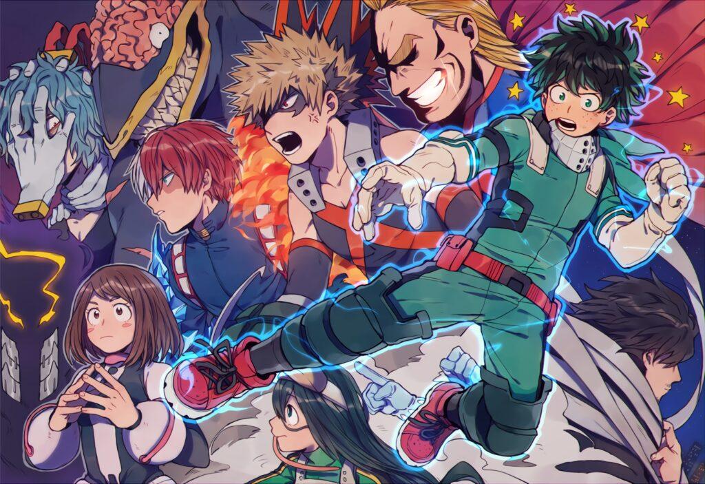 317437 my hero academia wallpaper 2400x1648 phone - One Piece Tarzı Animeler - Figurex Anime Önerileri