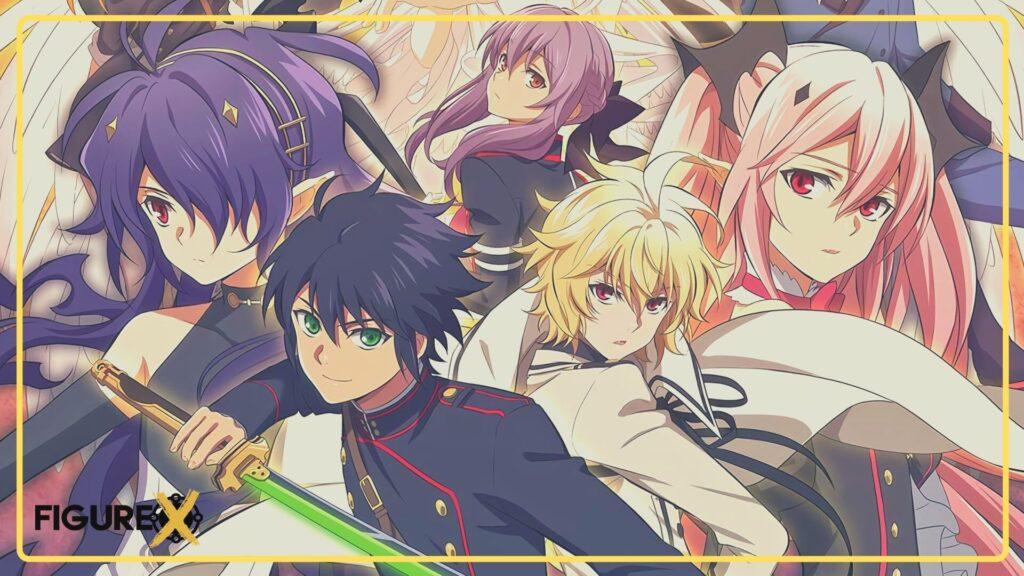 32 Owari no Seraph - Kimetsu no Yaiba Tarzı Animeler - Figurex Anime Önerileri