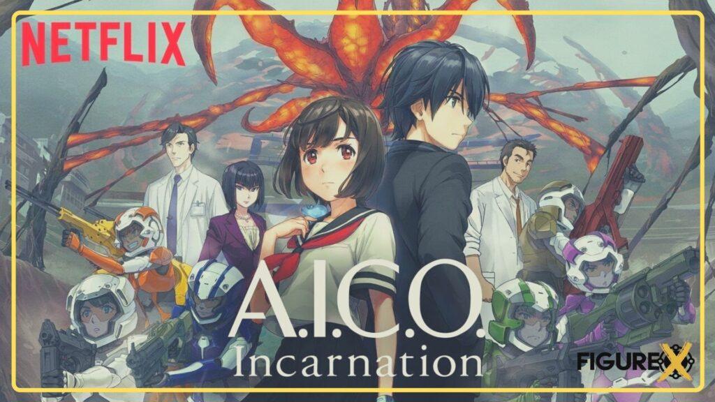 34 A.I.C.O Incarnation 1 - Netflix'de İzleyebileceğiniz Harika Animeler - Figurex Sinema
