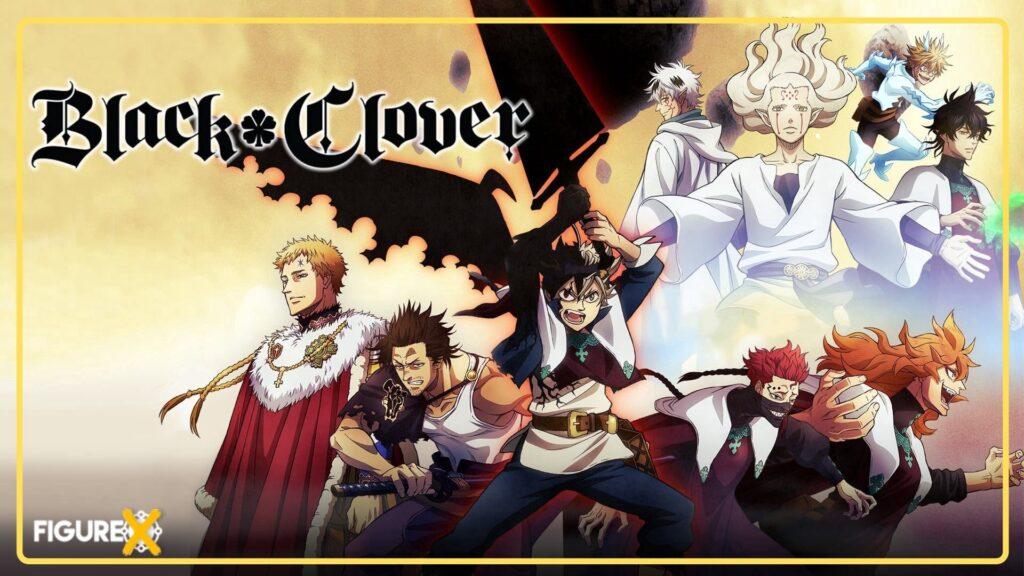35 Black Clover - Fairy Tail Tarzı Animeler - Figurex Anime Önerileri