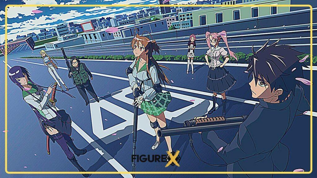 41 Highschool of the Dead - Tokyo Ghoul Tarzı Animeler - Figurex Anime Önerileri