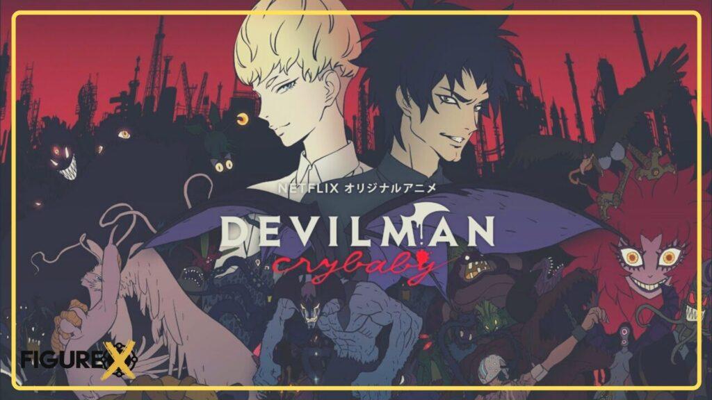 5 Devilman Crybaby - Kimetsu no Yaiba Tarzı Animeler - Figurex Anime Önerileri