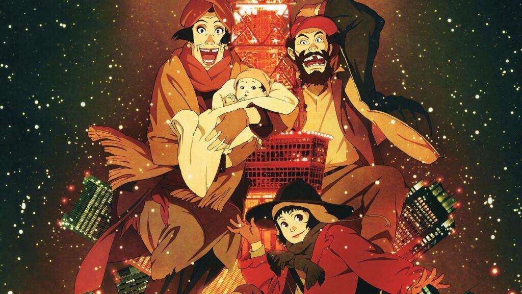 5 Tokyo Godfathers 1 - Yetişkinler İçin Anime Film Önerileri - Figurex Film