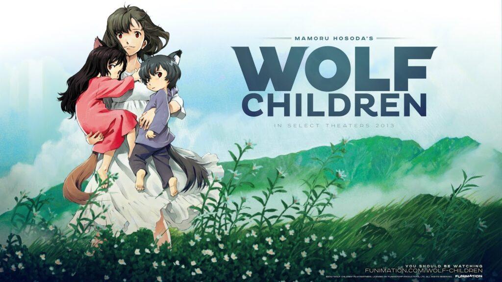 8 Wolf Children 1 - Yetişkinler İçin Anime Film Önerileri - Figurex Film