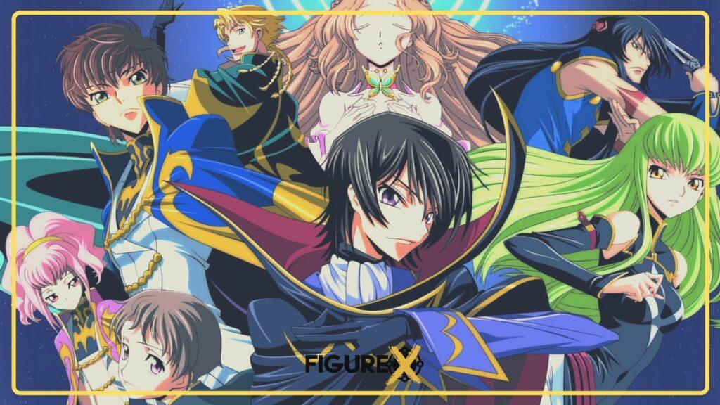 Code Geass - Akıl Oyunları Tarzı Animeler - Figurex Anime Önerileri