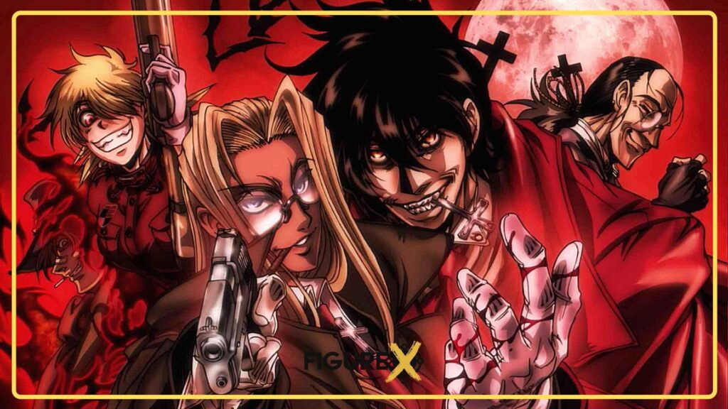 Hellsing Ultimate 2 - Tokyo Ghoul Tarzı Animeler - Figurex Anime Önerileri