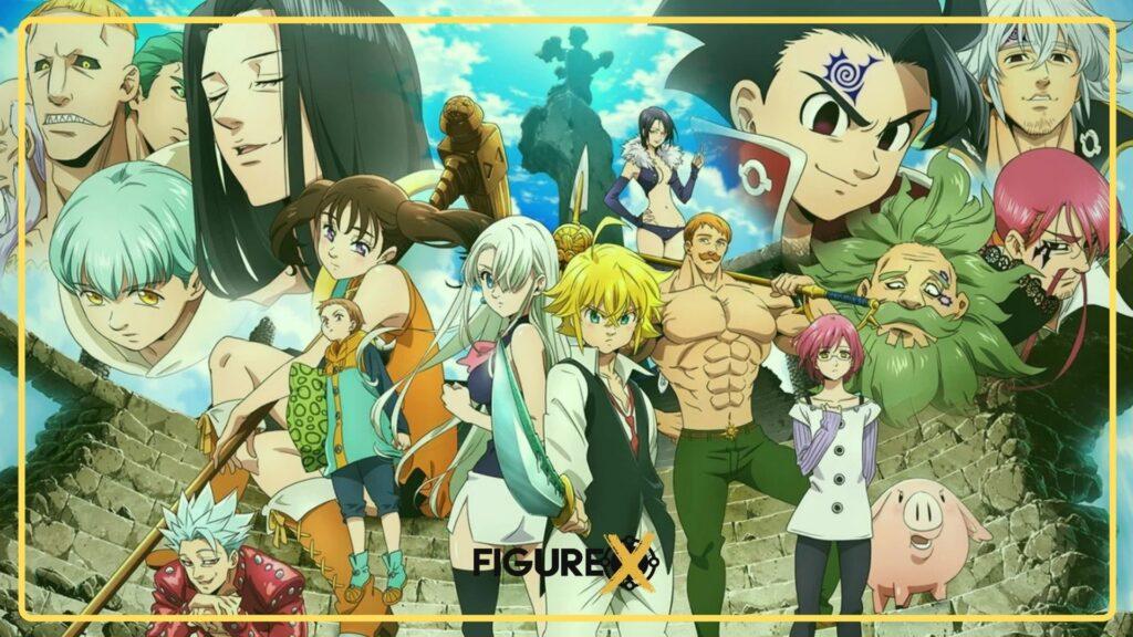 nanatsu no taizai - Fairy Tail Tarzı Animeler - Figurex Anime Önerileri