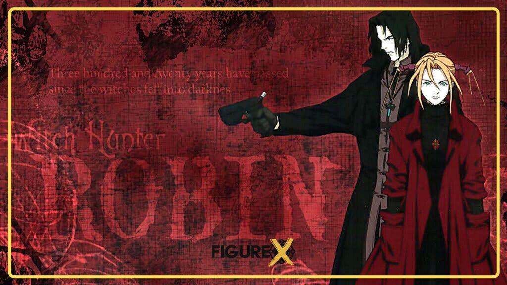 witch hunter robin - Tokyo Ghoul Tarzı Animeler - Figurex Anime Önerileri