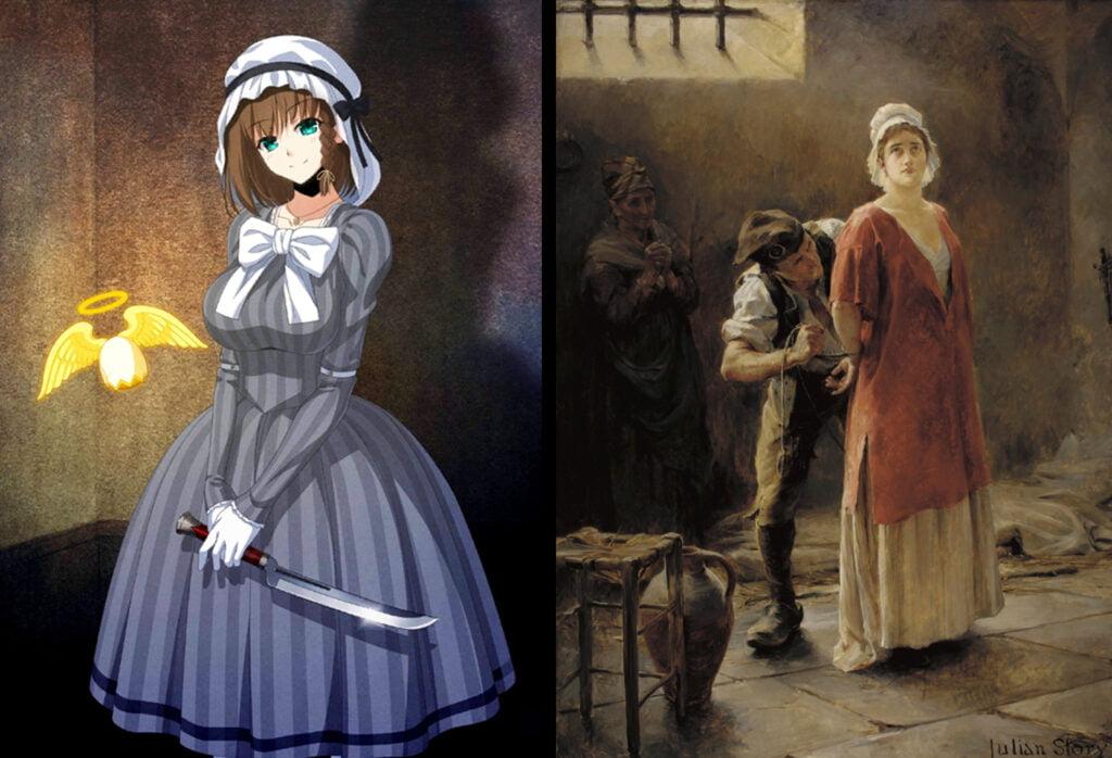 10 Charlotte Corday 1 - Fate/Grand Order Assassin Sınıfındakilerin Gerçekler Hikayeleri - Figurex Ne? Nedir?