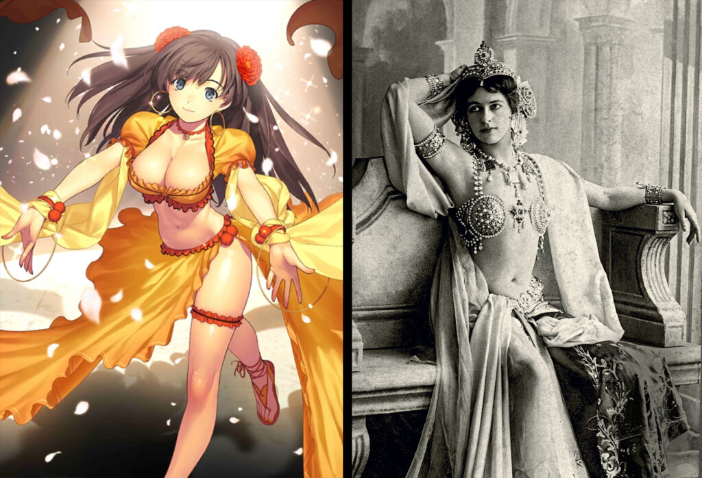 12 Mata Hari 1 - Fate/Grand Order Assassin Sınıfındakilerin Gerçekler Hikayeleri - Figurex Ne? Nedir?