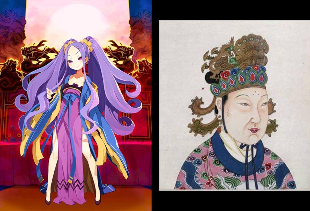 14 Wu Zetian 1 - Fate/Grand Order Assassin Sınıfındakilerin Gerçekler Hikayeleri - Figurex Ne? Nedir?
