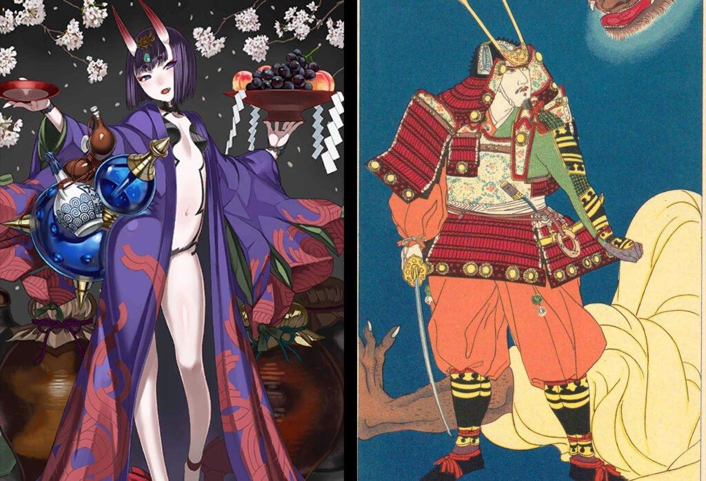 16 Shuten Douji 1 - Fate/Grand Order Assassin Sınıfındakilerin Gerçekler Hikayeleri - Figurex Ne? Nedir?