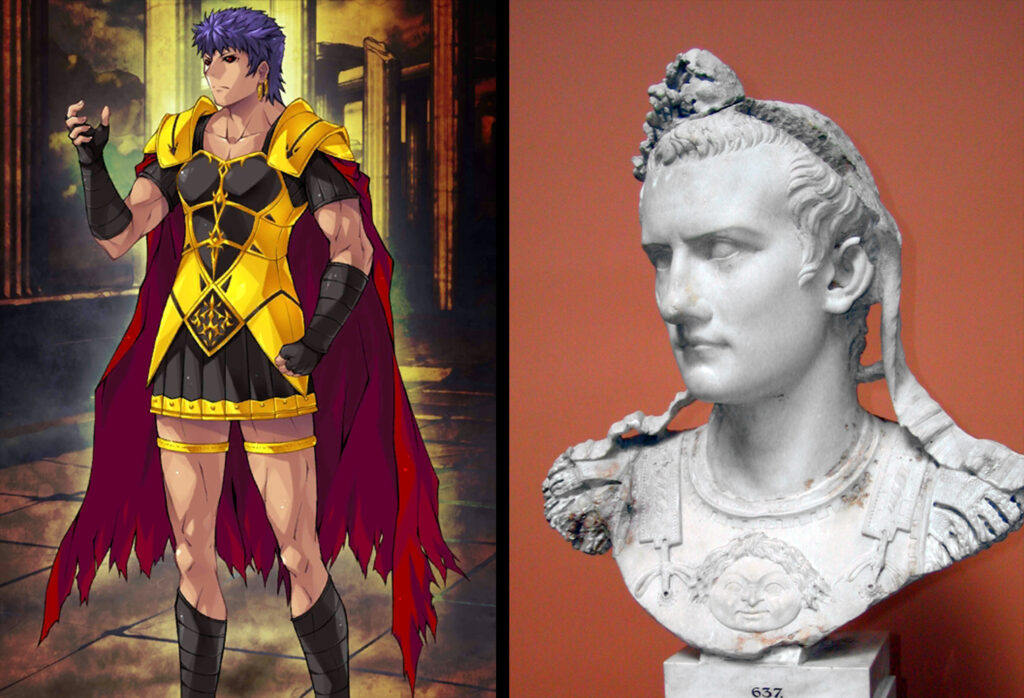 17 Caligula 1 - Fate/Grand Order Berserker Sınıfındakilerin Gerçek Hikayeleri - Figurex Ne? Nedir?