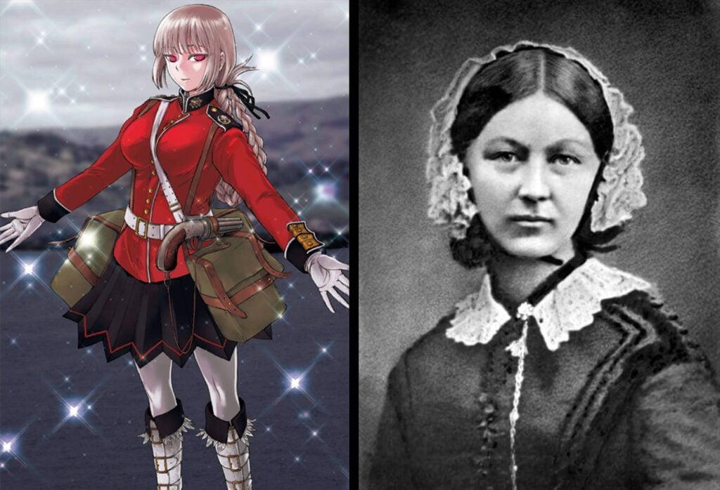 18 Nightingale 1 - Fate/Grand Order Berserker Sınıfındakilerin Gerçek Hikayeleri - Figurex Ne? Nedir?
