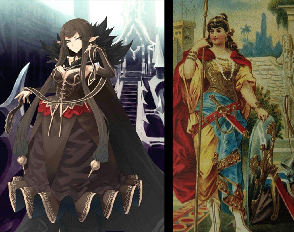 3 Semiramis 1 - Fate/Grand Order Assassin Sınıfındakilerin Gerçekler Hikayeleri - Figurex Ne? Nedir?