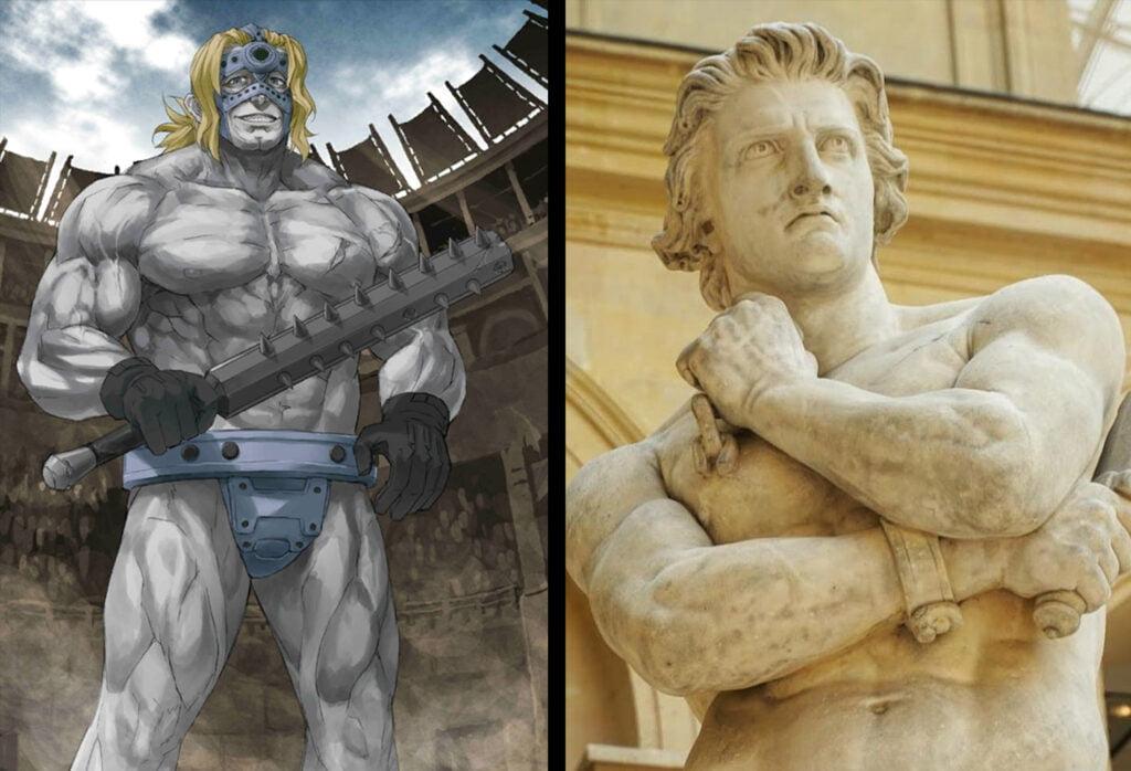 3 Spartacus 1 - Fate/Grand Order Berserker Sınıfındakilerin Gerçek Hikayeleri - Figurex Ne? Nedir?