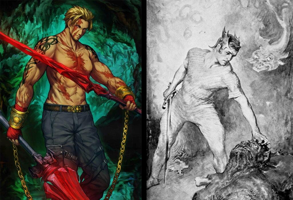 7 Beowulf 1 - Fate/Grand Order Berserker Sınıfındakilerin Gerçek Hikayeleri - Figurex Ne? Nedir?