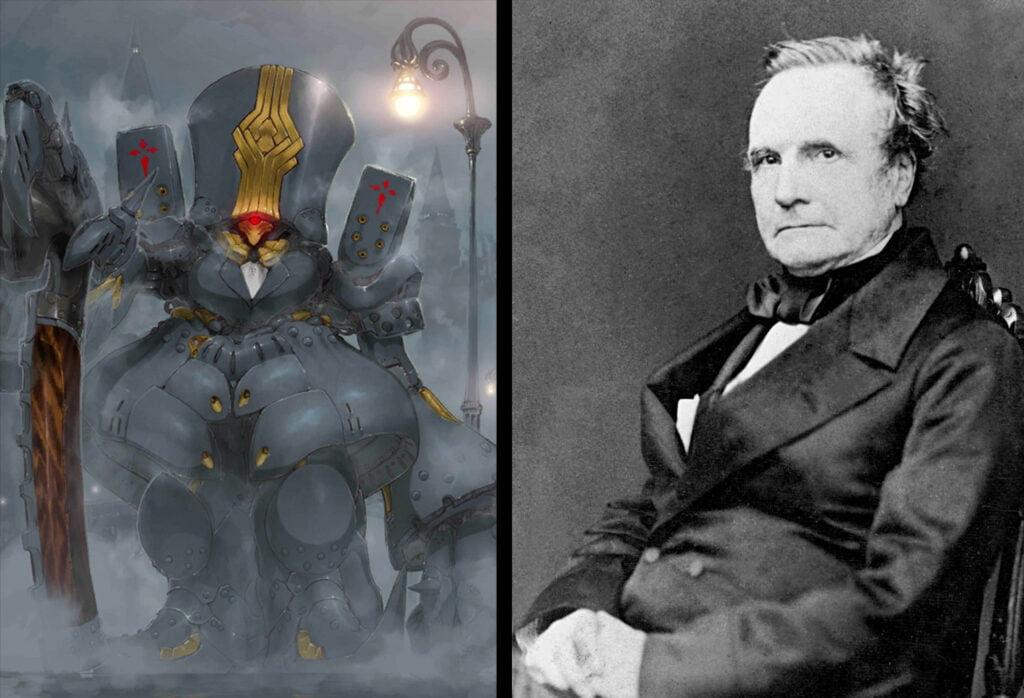 15 Charles Babbage - Fate/Grand Order Caster Sınıfı Karakterleri Gerçek Hikayeleri - Figurex Ne? Nedir?