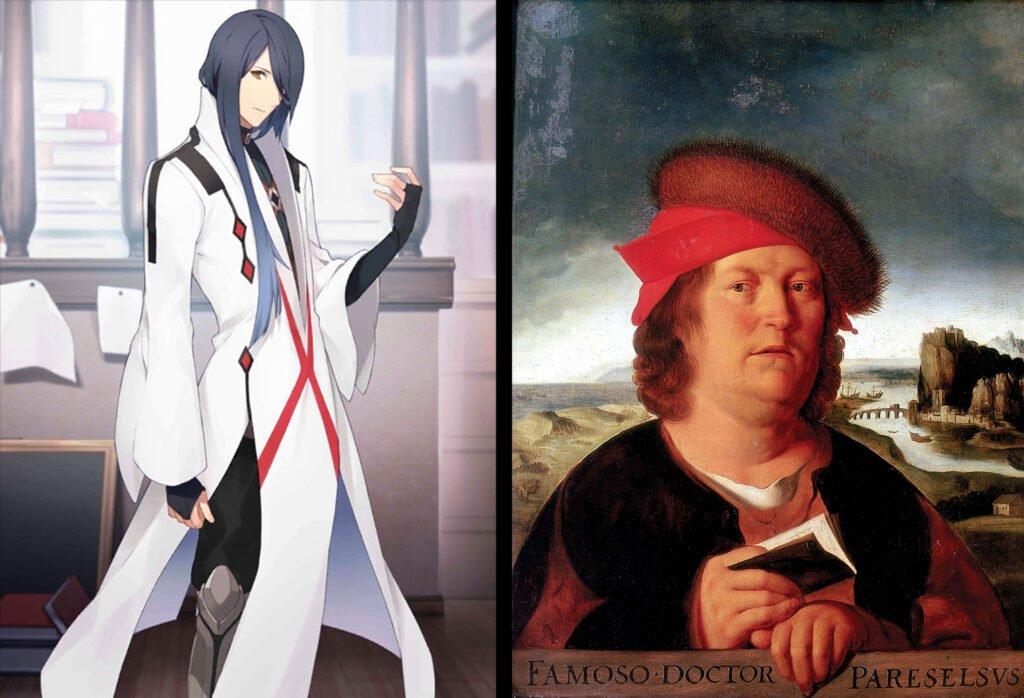 23 Paracelsus Von Hohenheim - Fate/Grand Order Caster Sınıfı Karakterleri Gerçek Hikayeleri - Figurex Ne? Nedir?