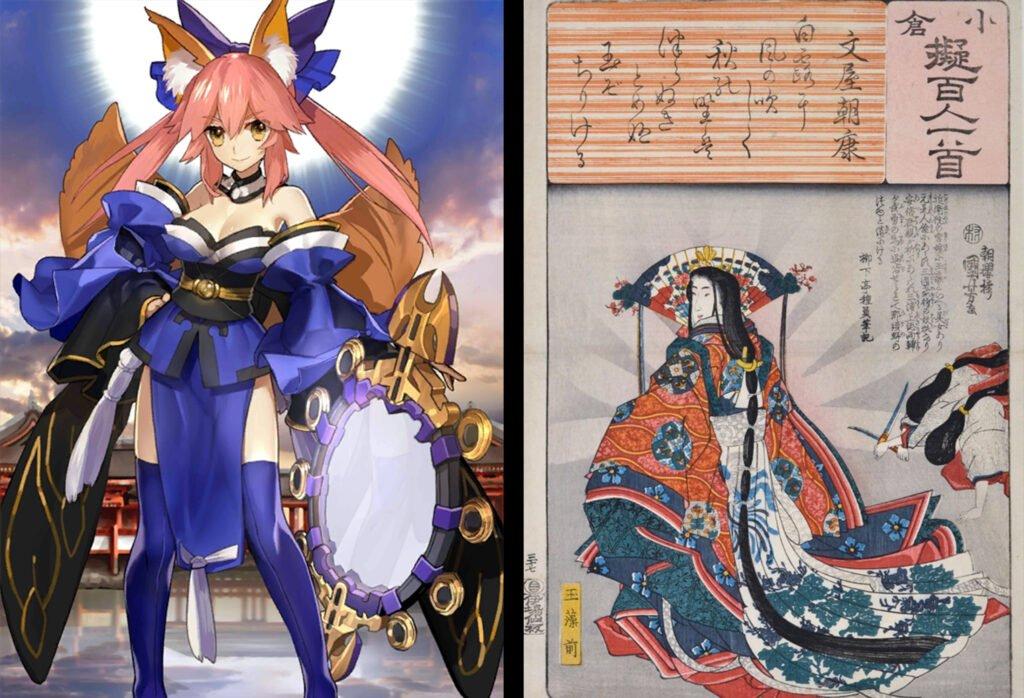 8 Tamamo no Mae - Fate/Grand Order Caster Sınıfı Karakterleri Gerçek Hikayeleri - Figurex Ne? Nedir?