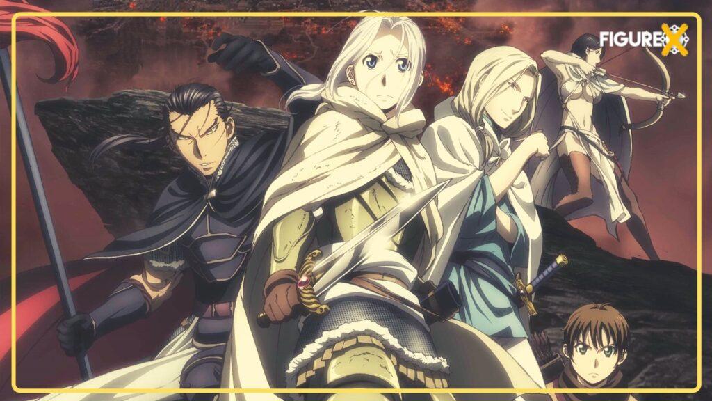 Arslan Senki - Akatsuki no Yona Tarzı Animeler - Figurex Anime Önerileri