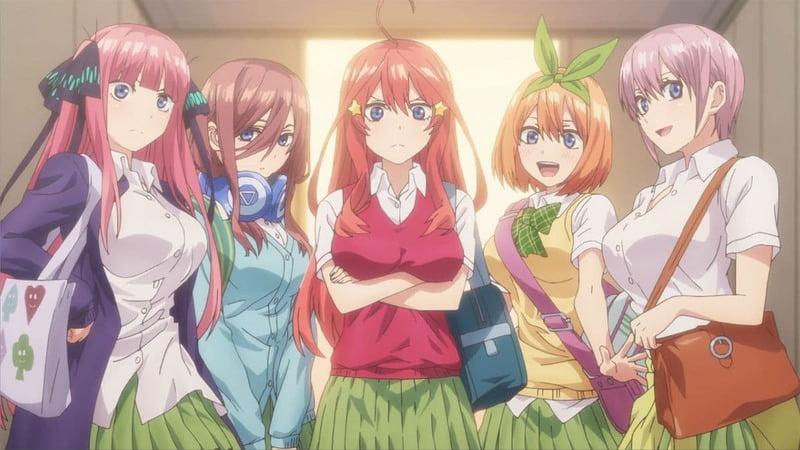 Go toubun no Hanayome ∬ - İşte Karşınızda 2021 Kış Anime Listesi! - Figurex Genel