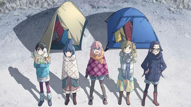 Yuru Camp△ Season 2 - İşte Karşınızda 2021 Kış Anime Listesi! - Figurex Genel
