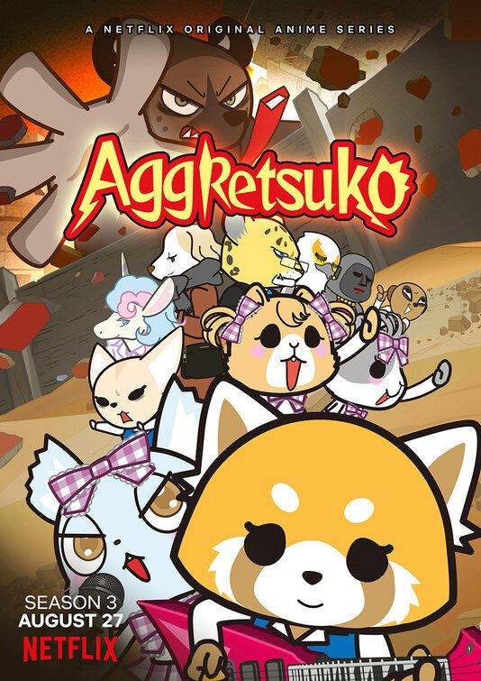 aggretsuko ver3 - Netflix'in Aggretsuko Animesi İçin Yeni Sezon! - Figurex Anime Haber