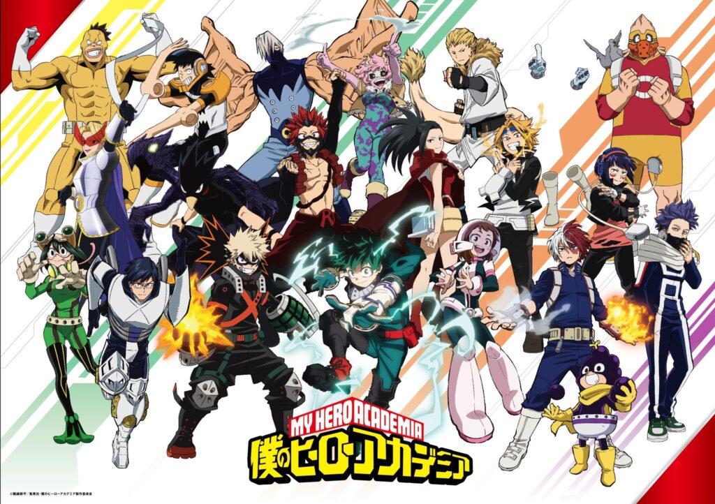 my hero academia 5 - My Hero Academia Animesi İçin Yeni Haberler!! - Figurex Genel