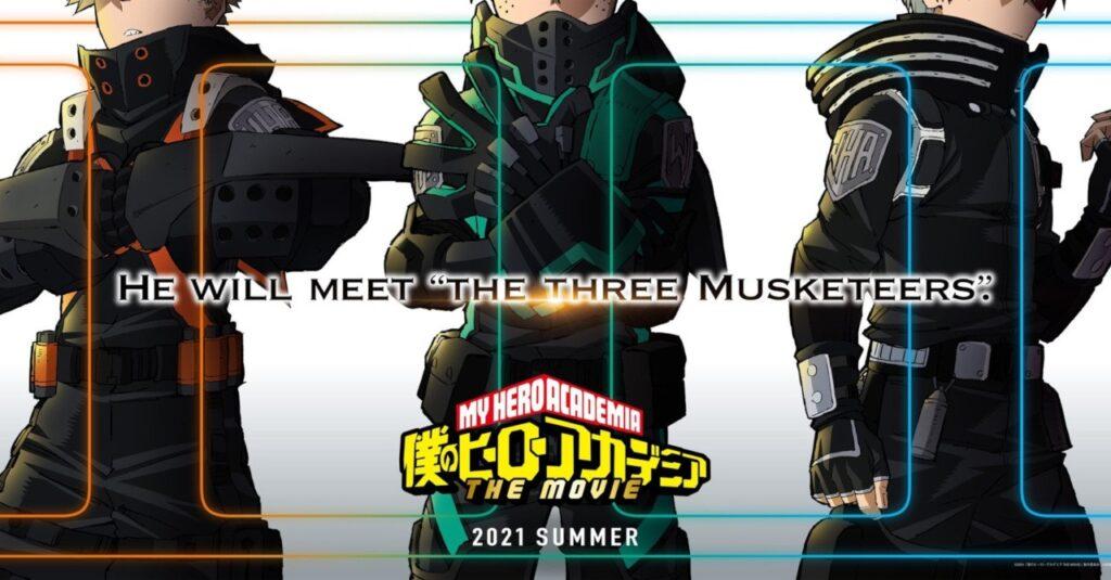 my hero academia movie 3 summer 2021 1 - My Hero Academia Animesi İçin Yeni Haberler!! - Figurex Genel