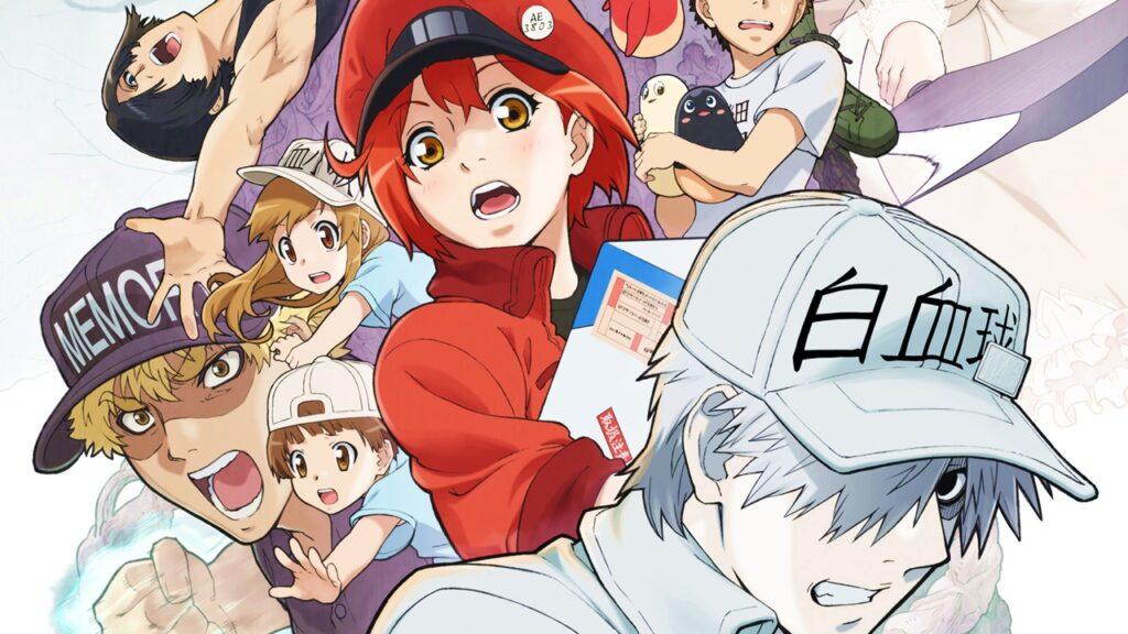 portada hataraku saibou 4 - İşte Karşınızda 2021 Kış Anime Listesi! - Figurex Genel