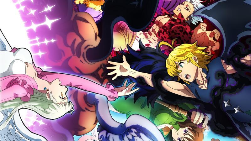 ANN0O7Y - Nanatsu no Taizai :Hikari ni Norowareshi Mono-tachi Filmi Geliyor - Figurex Anime Haber