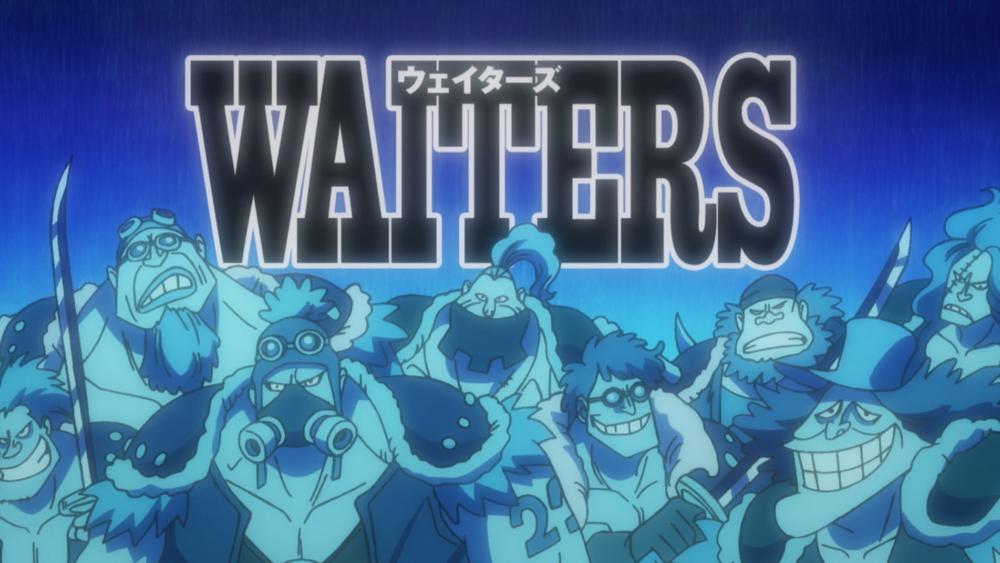 Waiters - One Piece - Şeytan Meyvesi Aslında Nedir? - Figurex Ne? Nedir?