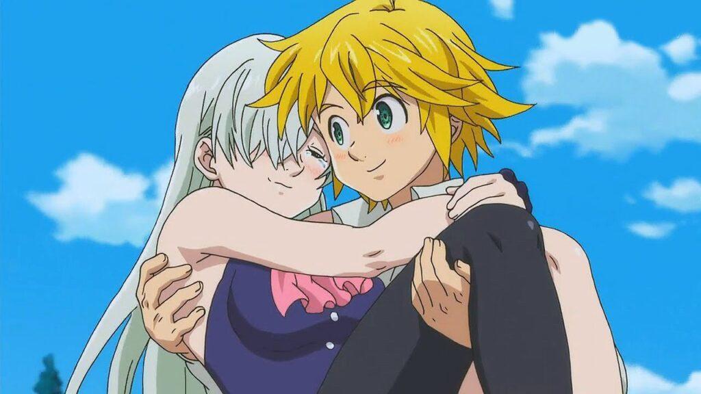 1608391938 Why Meliodas is not one of the great heroes of - Sevgililer Gününe Özel: Tatlış Anime Çiftleri! - Figurex Anime