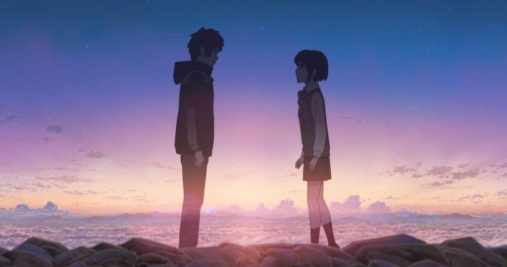 Your Name 1024x540 1 - Sevgililer Gününe Özel: Tatlış Anime Çiftleri! - Figurex Anime