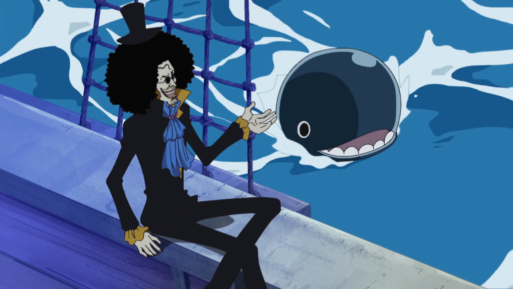 Brook Watching over Laboon - One Piece - Yomi Yomi no Mi - Figurex Anime