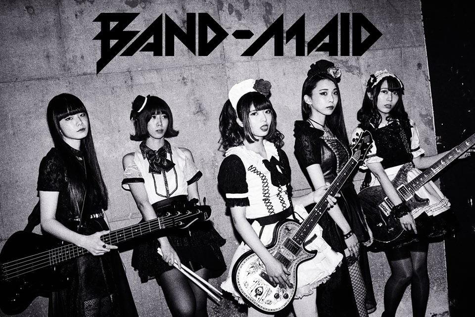 Band Maid - Sevenler İçin J-pop / J-Rock Önerileri - 3 - Figurex Listeler