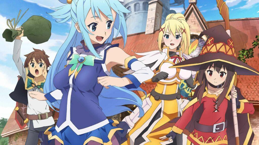 KonoSuba - Mitoloji ile Alakalı Animeler - Figurex Genel