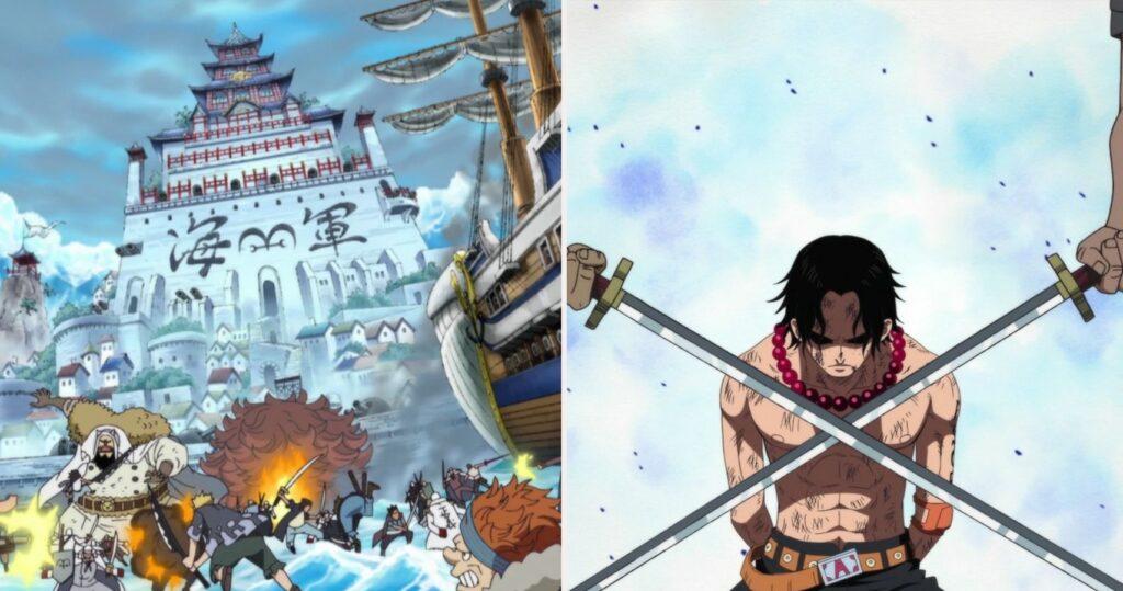 One Piece The 10 Best Episodes Of The Marineford Arc According To IMDb featured image - One Piece - Mera Mera no Mi - Figurex Anime