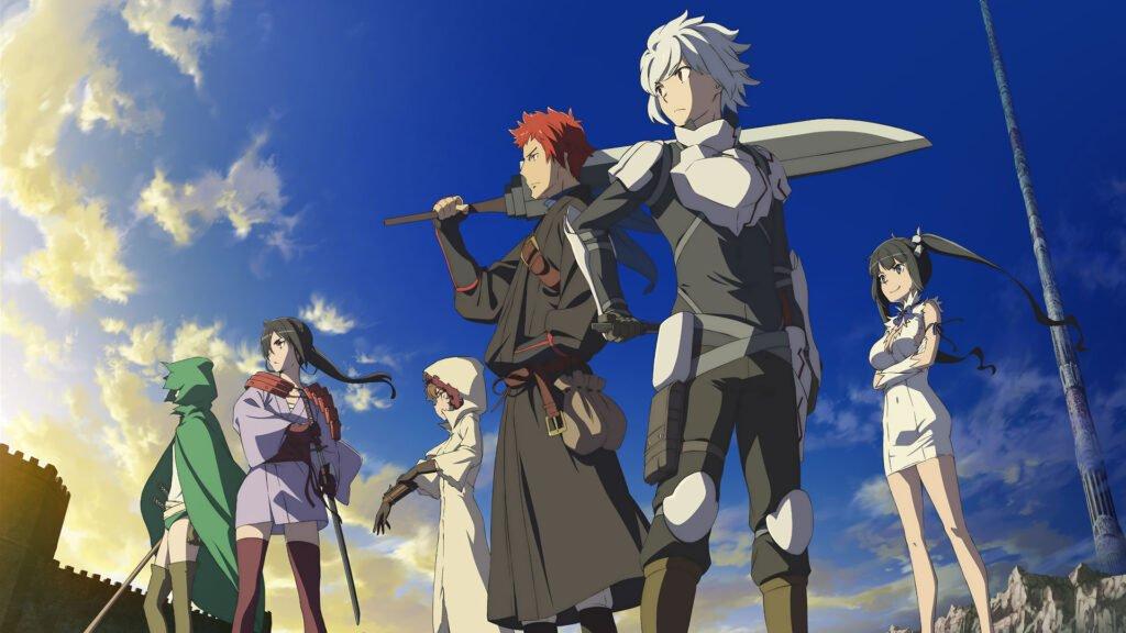 dungeon ni deai wo motomeru no wa machigatteiru darou ka - Mitoloji ile Alakalı Animeler - Figurex Genel