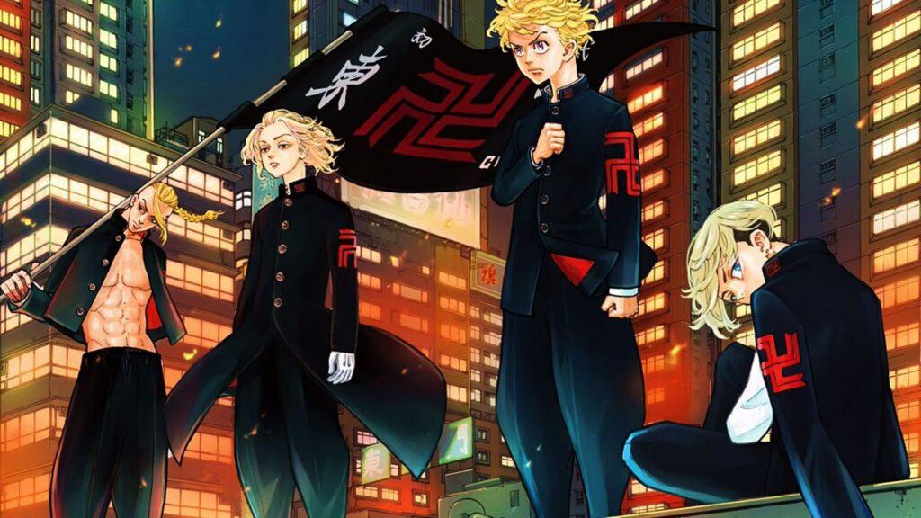 Watch Tokyo Revengers uncensored Crunchyroll censorship of Nazi swastika like Manji symbol - Tokyo Revengers Animesi İçin Yeni Sezon Geliyor! - Figurex Anime Haber