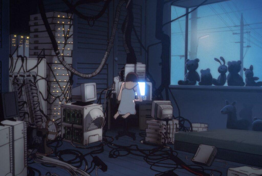 Serial Experiments Lain - CyberPunk Temalı Anime Önerisi 10 Adet - Figurex Anime Önerileri