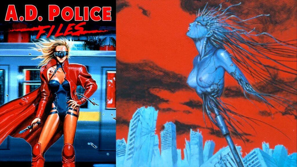 ad police - CyberPunk Temalı Anime Önerisi 10 Adet - Figurex Anime Önerileri