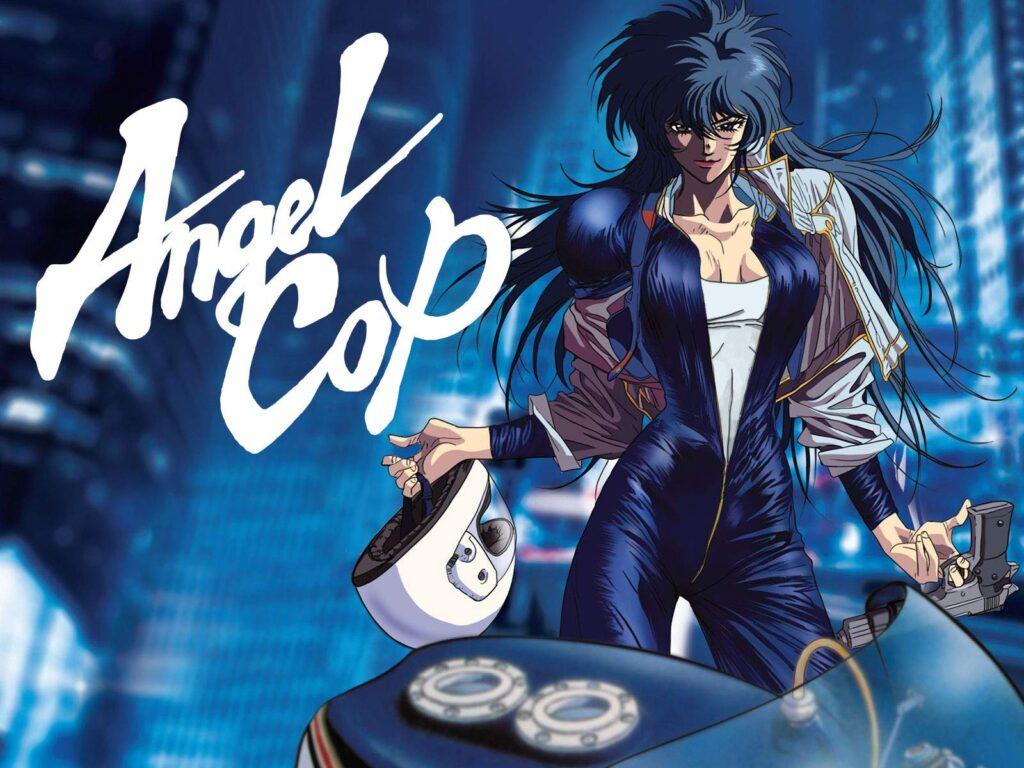 angel cop - CyberPunk Temalı Anime Önerisi 10 Adet - Figurex Anime Önerileri